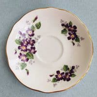 Duchess China - Violetta  - Cup and Saucer Duo - 1960s
